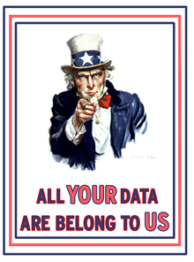All Your Data Belongs To US