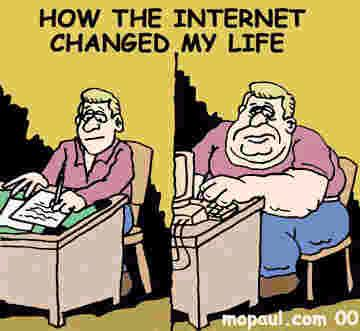 How The Internet Changed My Life